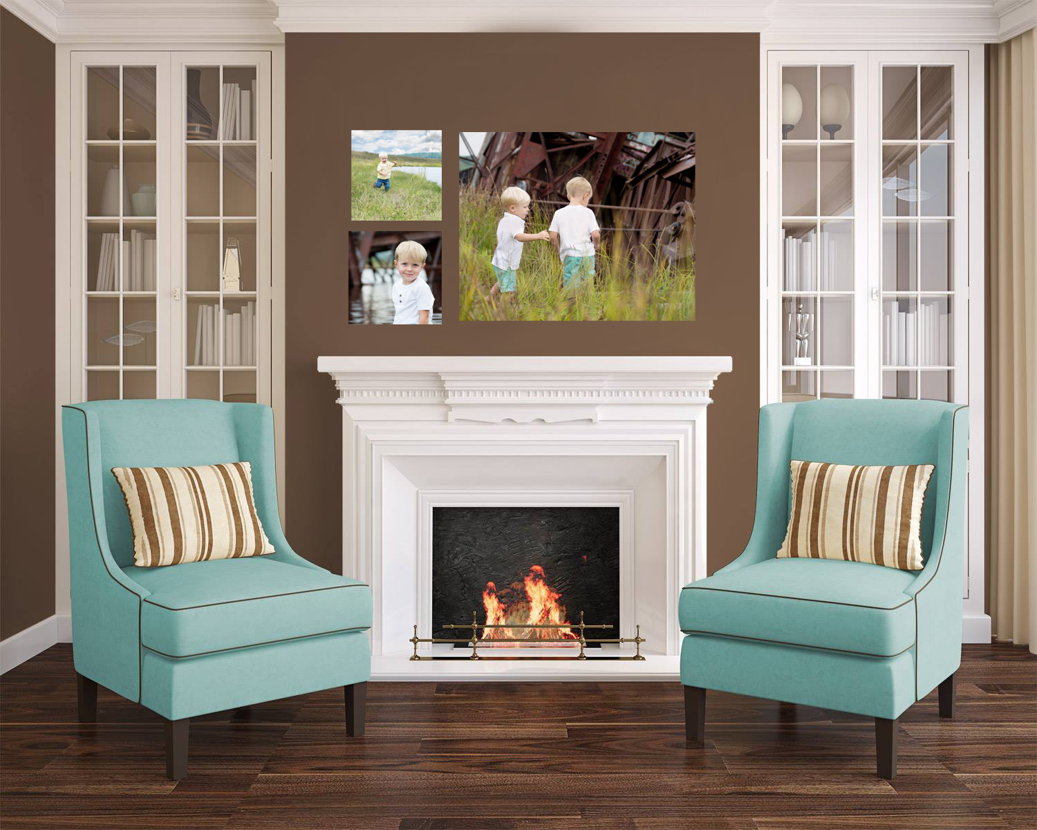 portraits that coordinate to home design is a part of full service photographer services