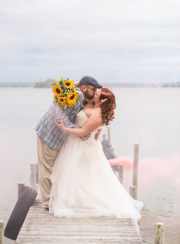 Intimate Chamberlin's Ole Forest Inn Wedding Curtis MI | Steve + Chelsea