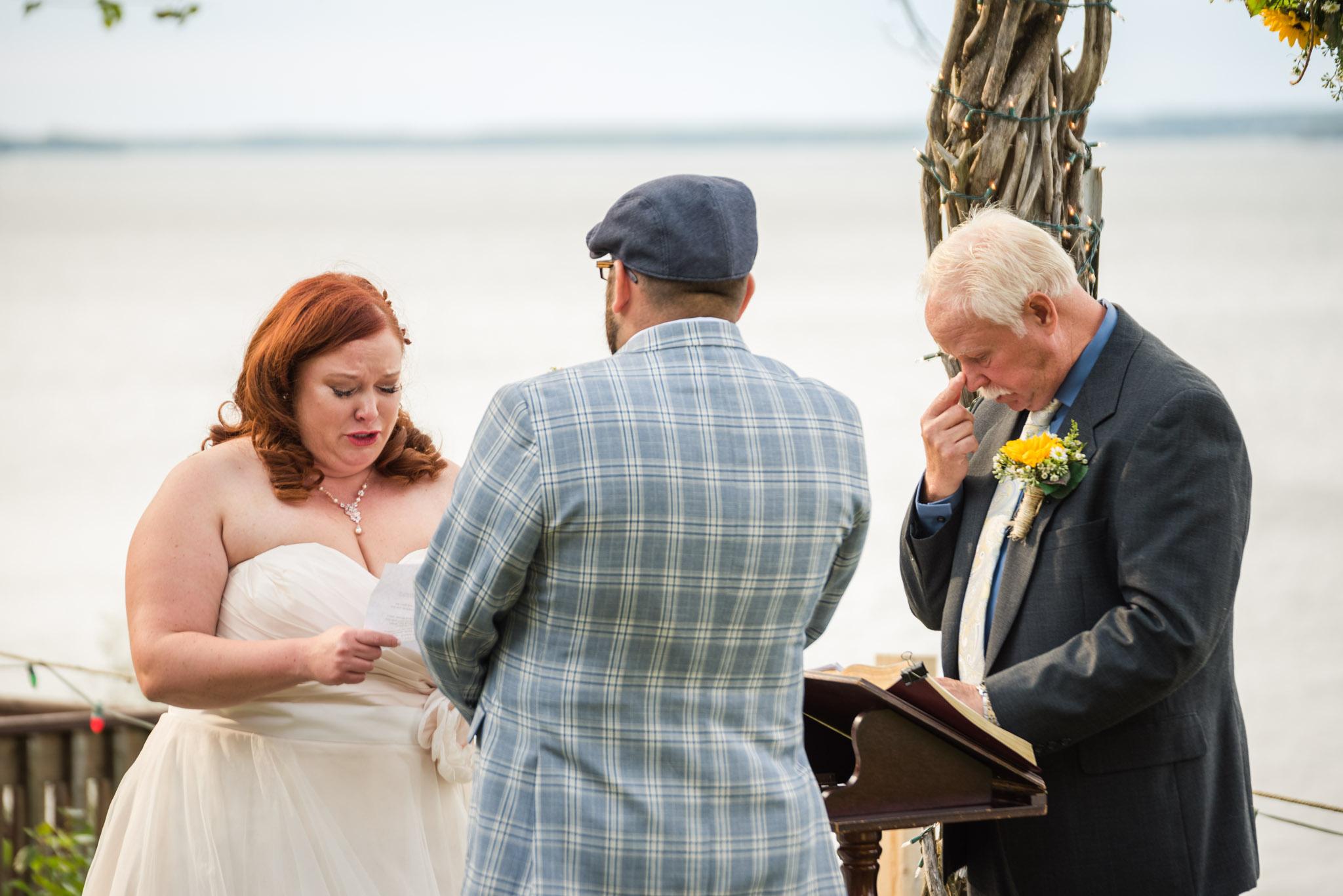 upper peninsula intimate wedding chamberlins ole forest inn