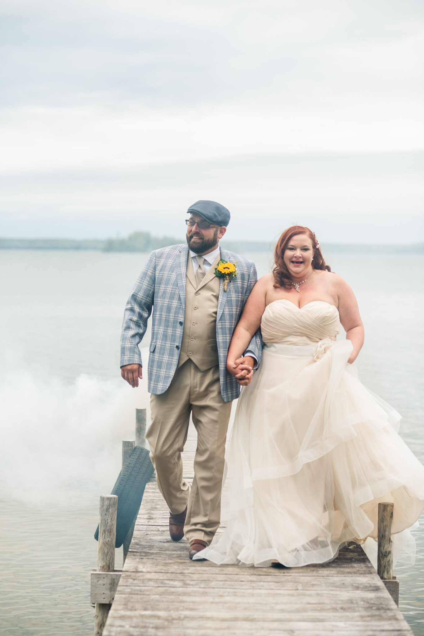 chamberlins ole forest inn wedding pictures curtis mi