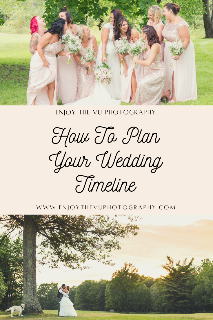 how to plan upper peninsula wedding timeline