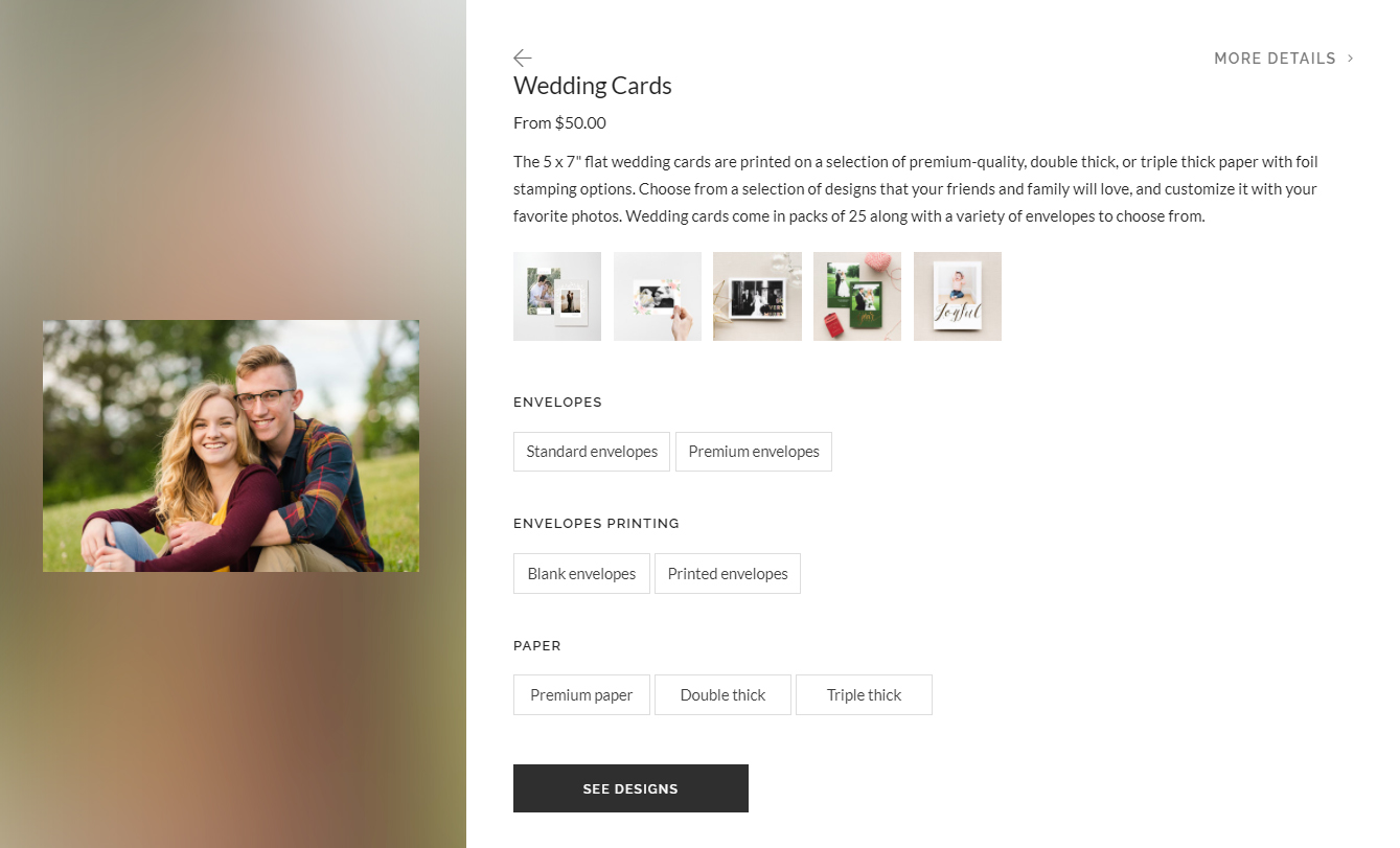 how to order from your gallery