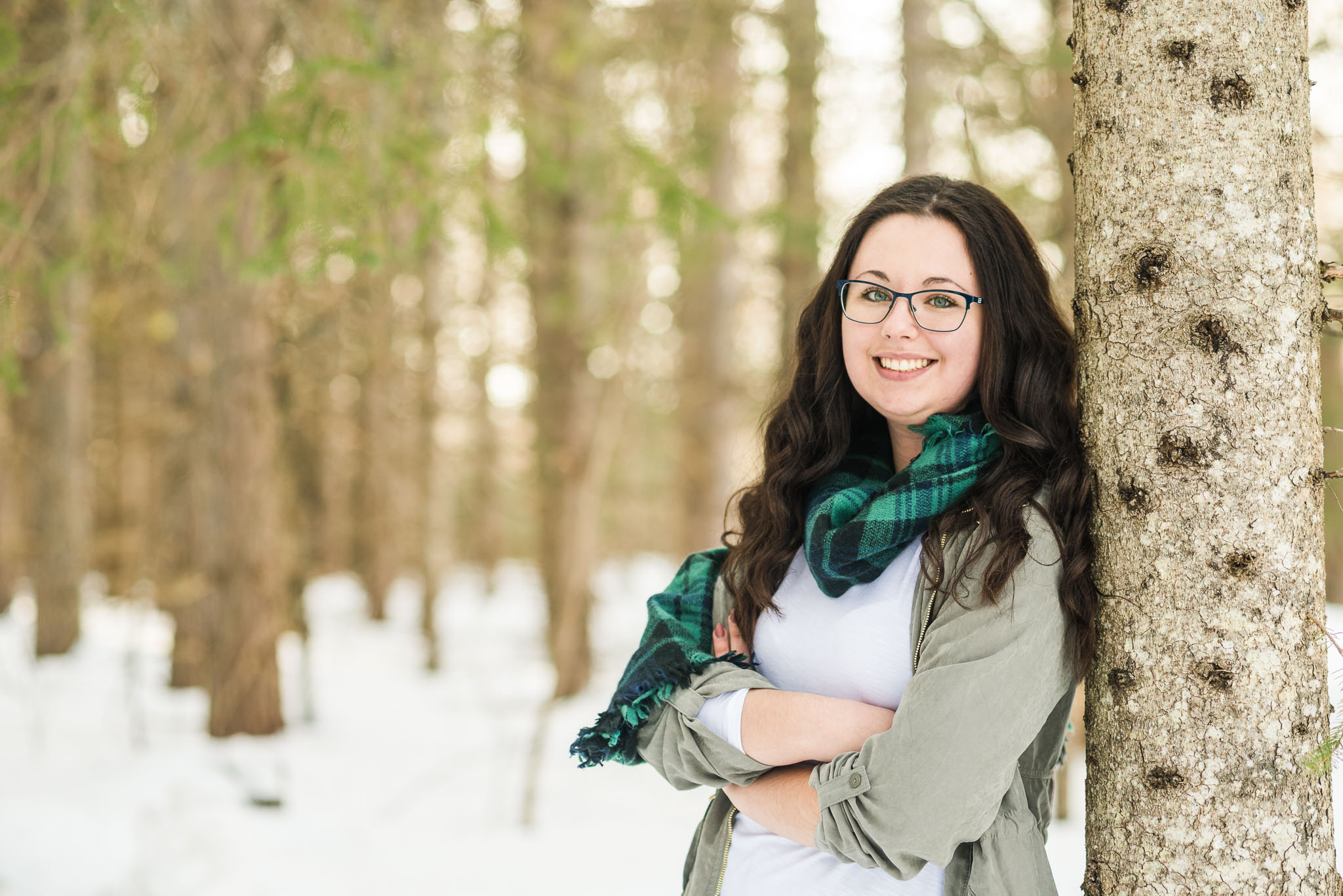 planning a winter family photo session in upper peninsula michigan