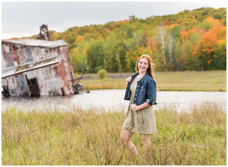 senior pictures at quincy dredge