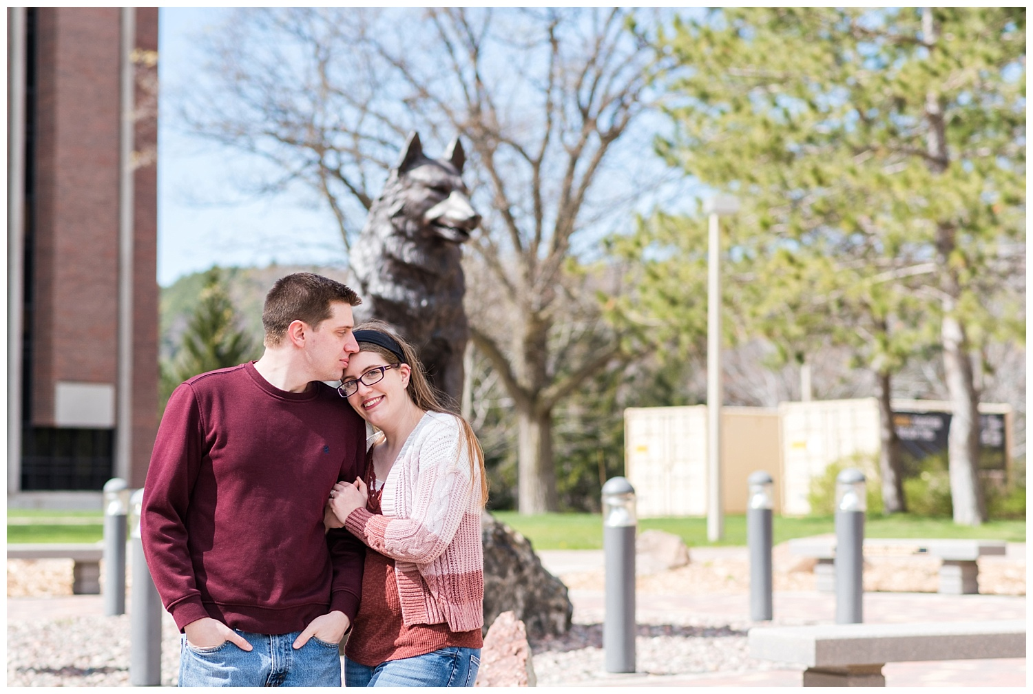 Michigan Tech Engagement Session in Houghton MI