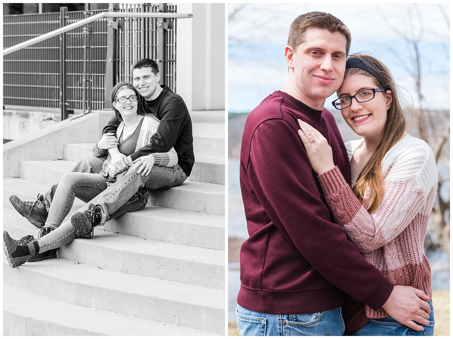 Michigan Tech Engagement Session in Houghton Michigan