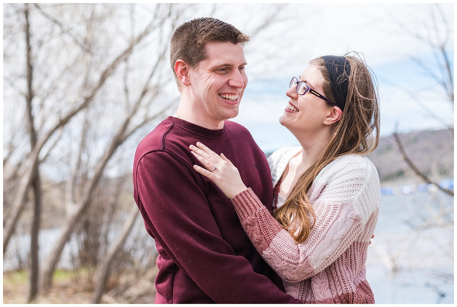 Engagement session in Houghton Michigan