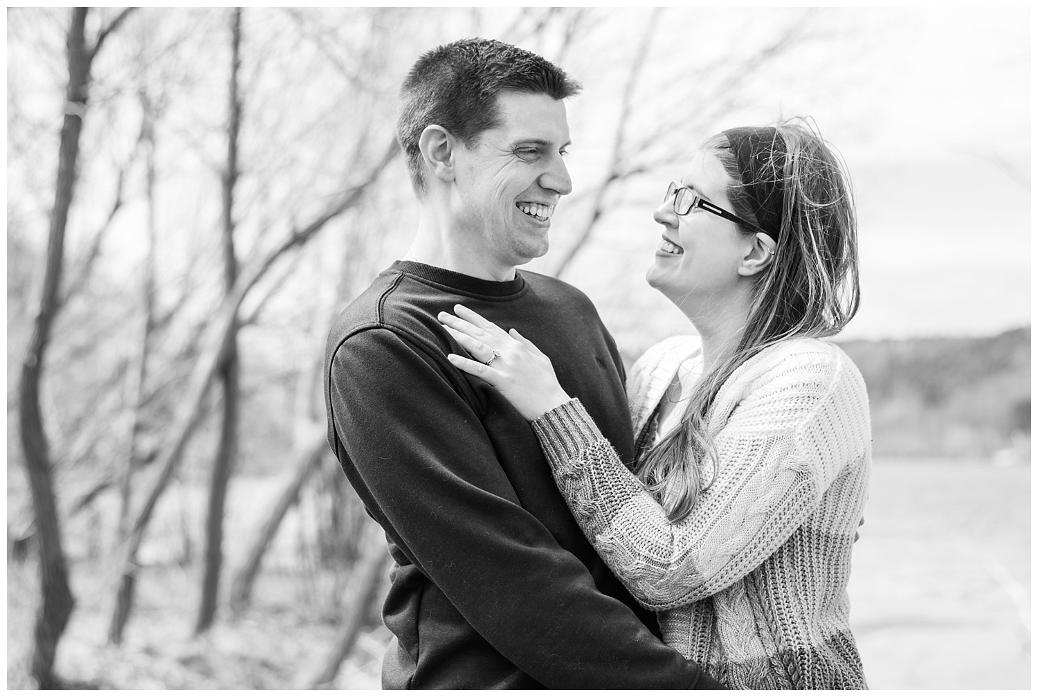 Engagement session in Houghton MI