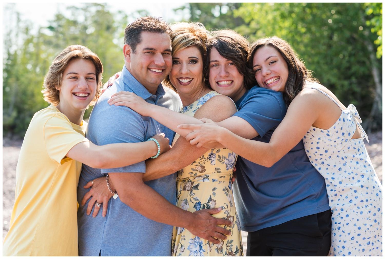 family pictures in copper harbor michigan