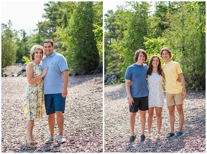 family pictures in copper harbor mi