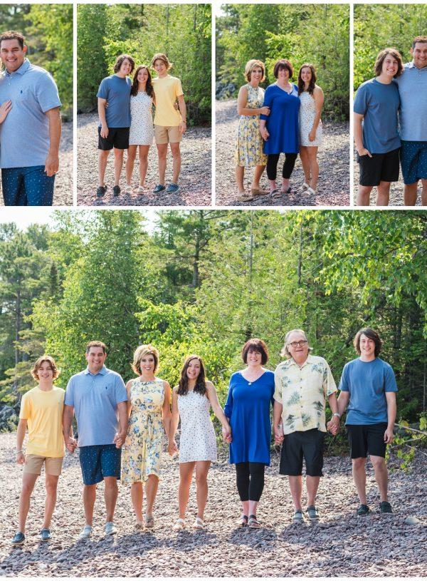 Copper Harbor Michigan Family Pictures   Smith Family