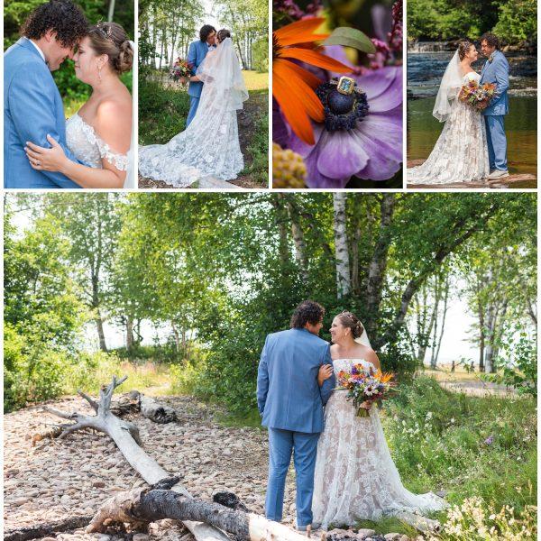 Keweenaw Peninsula Wedding on the Water   Marko + Sheena
