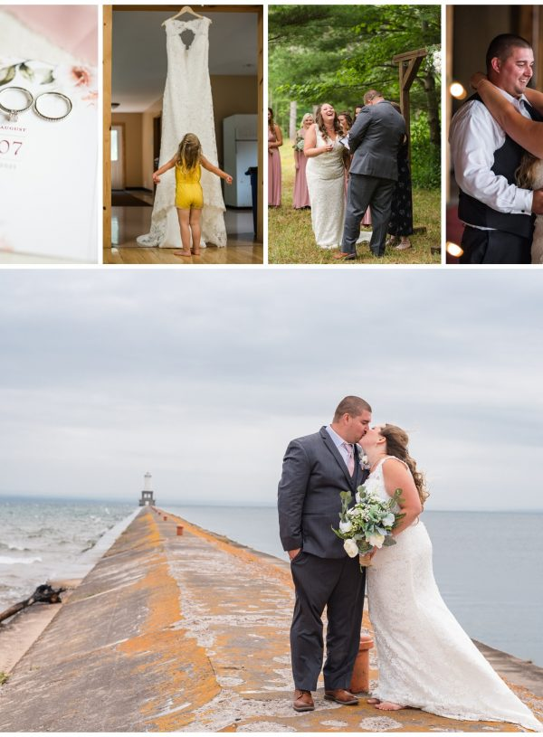 Lake Linden Michigan Wedding Full of Laughter | Brandon + Caitlin