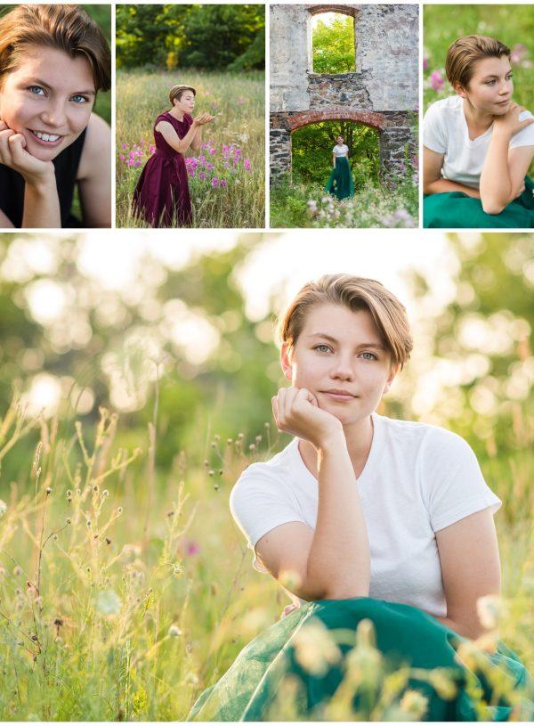 Hancock MI Summer Senior Pictures | Leah
