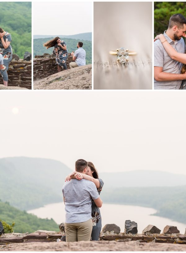 Lake Of The Clouds Proposal | Mitchell + Amy